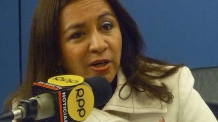 Marisol Espinoza evitó declarar por el rechazo a su renuncia partidaria