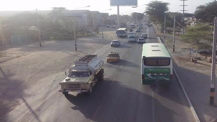 Piura: transportistas interdistritales de Las Lomas realizan paro