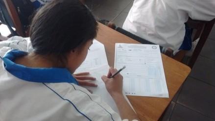20 mil alumnos rindieron evaluación en censo regional 2015