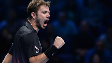 Masters de Londres: Wawrinka entró a 'semis' con Nadal, Federer y Djokovic