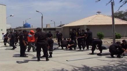 El Niño: capacitan a alumnos de la policía para acciones de rescate