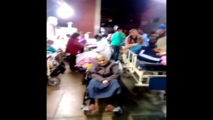 Ministerio de Salud: Hospital atiende en parte externa por falta de espacio