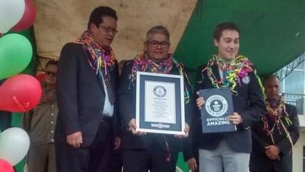 Certifican récord Guinness de agencia del Banco de la Nación en Macusani