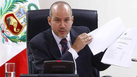 Tejada: Juez que anuló denuncias contra Alan García sí fue aprista