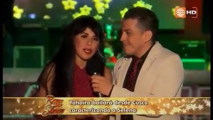 Reyes del Show: Yahaira Plasencia bailó desde el Cusco