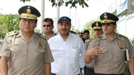 Ministro del Interior visitó la ciudad de Ica para inspeccionar trabajo policial