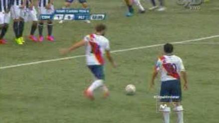 Deportivo Municipal vs. Alianza Lima: Gonzales Vigil sorprendió con sutileza de tiro libre