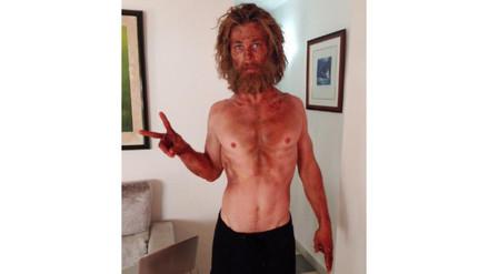 Chris Hemsworth transformó su cuerpo para su nueva película