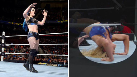 WWE: Paige acusó a Charlotte de hacer trampa en Survivor Series 2015