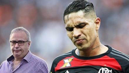 Paolo Guerrero: presidente de Corinthians agradece no haberle renovado