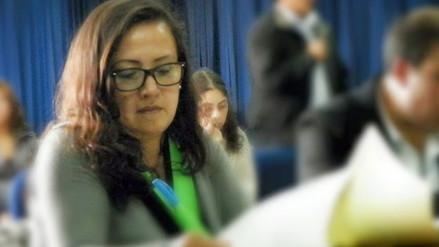 """Lilian Cruzado: """"candidatos al congreso están detrás de movilización"""""""