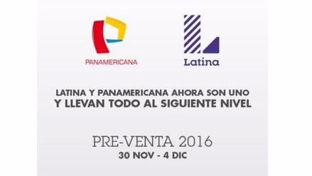 Latina y Panamericana Televisión anunciaron alianza estratégica