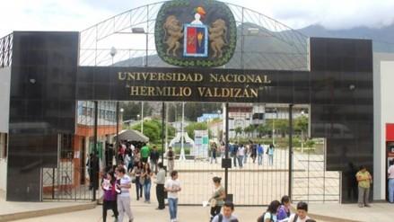 Fiscalía intervino Universidad Hermilio Valdizán de Huánuco