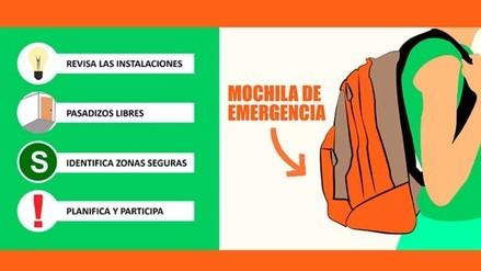 Interactivo | ¿Cómo actuar en caso de un sismo? 3 pasos a tener en cuenta