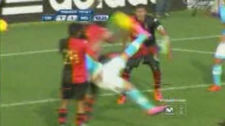 Sporting Cristal vs. Melgar: Beto Da Silva y su espectacular gol de tijera en el Clausura