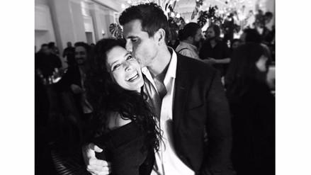 Luz María: Christian Meier y Angie Cepeda se volvieron a juntar