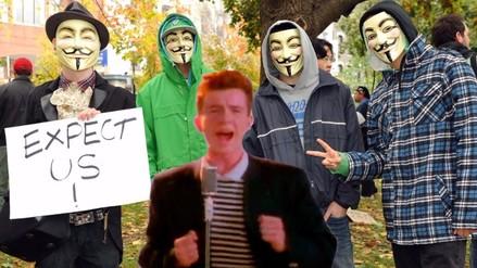 Rick Astley, la nueva arma de Anonymous contra ISIS