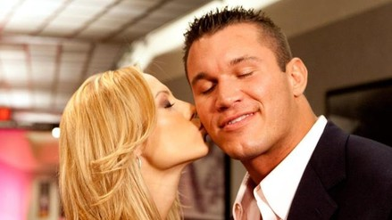 Wwe stacy keibler kiss