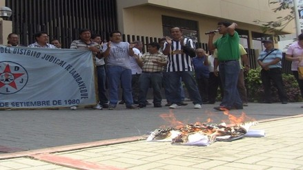 Trabajadores judiciales anuncian medidas más radicales