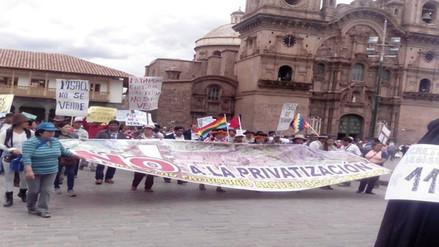 Cusco iniciará una huelga indefinida el próximo lunes contra D.L. 1198