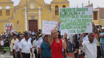 Lambayecanos con marcha en Lima exigen ejecutar represa La Calzada