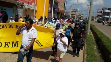 Ciudad de Puerto Maldonado paralizado en tercer día de paro regional