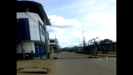 Video: pobladores de Puerto Maldonado viven atemorizados por paro regional