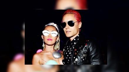 Miley Cyrus y Jared Leto tienen relación de tipo sexual, según allegados
