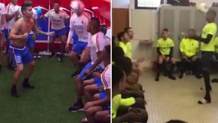 Facebook: plantel del Nantes imitó el reto de cabecitas de James Rodríguez