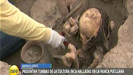 Descubren cuatro tumbas de la cultura Ychsma en la Huaca Pucllana