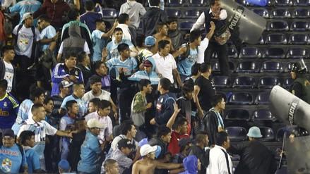 Alianza Lima vs. Sporting Cristal: así fue la pelea que se vivió en Matute