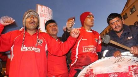 Cienciano: hinchas reclamaron para pedir la devolución de los seis puntos