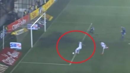Youtube: Nilson falló en la Copa Brasil un gol cantado frente a Palmeiras