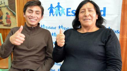 Huancayo: un universitario y una docente recuperan la visión