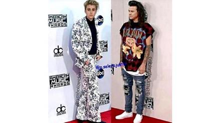 Justin Bieber piensa que Harry Styles luce mucho mejor que él