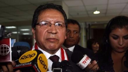 Fiscal de la Nación pidió al Congreso un aumento en el presupuesto para su sector