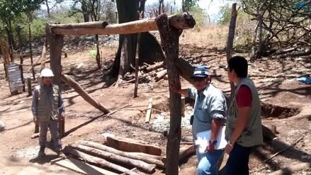 Transportaban ocho toneladas de relaves auríferos en Las Lomas