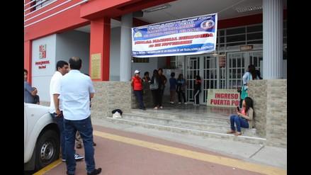 Chimbote: trabajadores judiciales en huelga impiden ingreso de jueces