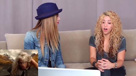 Shakira: Así reacciona al ver sus antiguos videoclips
