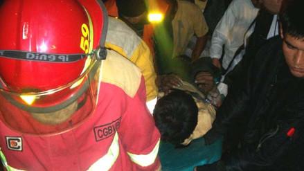 Mototaxista murió al impactar aparatosamente contra un camión