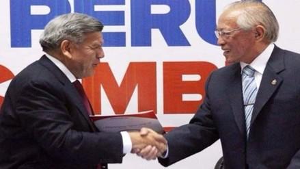 Partido de Humberto Lay no ha roto alianza con César Acuña pese a denuncias
