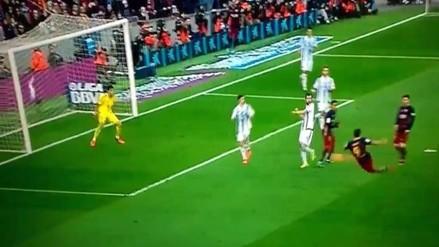 Barcelona vs. Real Sociedad: Luis Suárez se lució con espectacular 'tijera'
