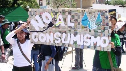 Huancayo: instituciones realizan marcha contra el cambio climático