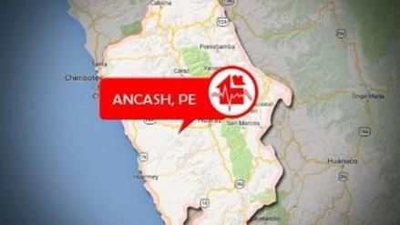 Un sismo de 4 grados se registró en Áncash