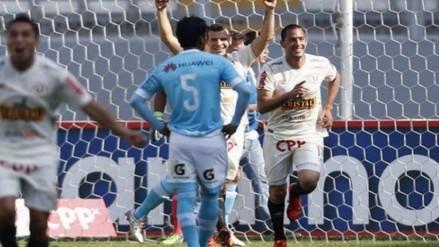 Universitario logró último cupo a la Sudamericana tras vencer a Sporting Cristal