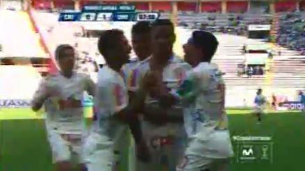 Sporting Cristal vs. Universitario de Deportes: Andy Polo anotó de tiro libre (VIDEO)