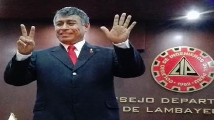 Carlos Burgos se convirtió en el nuevo decano del colegio de Ingenieros