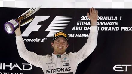 Fórmula 1: Nico Rosberg ganó el GP de Abu Dabi, última carrera del año