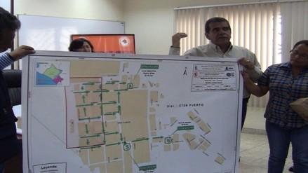 Entregan mapas de evacuación por lluvias a alcaldes distritales