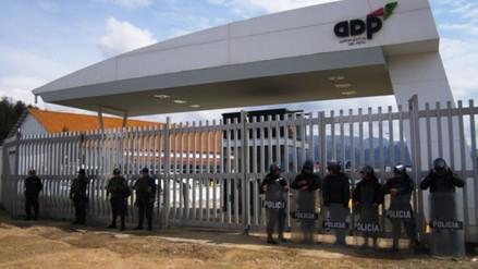 Realizan simulacro de secuestro en aeropuerto de Cajamarca